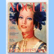 Vogue Magazine - 1970 - December